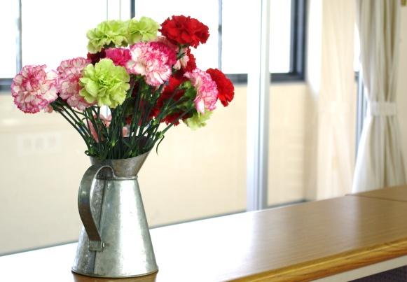 学生部のお花