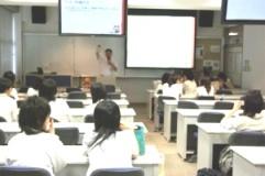 生活情報専攻体験授業の写真