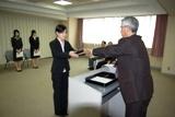 六葉奨学金授与式の写真