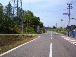 ロード トゥ トリムパークかなづ(手前の第3駐車場へ行く道を左へ)の写真