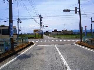 あわら市国影交差点の写真
