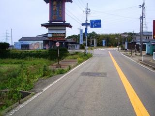 坂井市三国町加戸交差点の写真