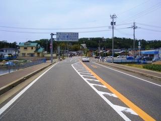 坂井市三国町覚善交差点の写真