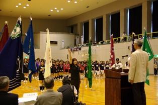 第42回北三大会開会式の様子写真(その1)