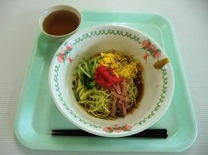 仁短食堂の「冷し中華」