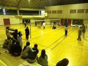 仁愛女子短期大学学生会主催バレーボール球技大会の様子その2
