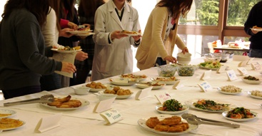 栄養指導実習の様子