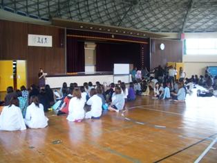 仁短祭ステージイベント説明会の写真