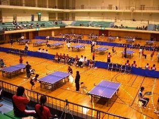 春季北信越卓球選手権大会の写真