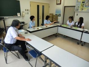 森田公民館での打ち合わせの様子写真