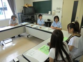 森田公民館の吉村館長様との写真