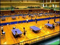 2007年度春季北信越学生卓球選手権大会の写真