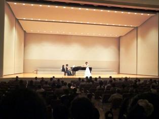 仁愛女子短期大学音楽学科サマー・コンサート(フルート&ピアノ)の様子