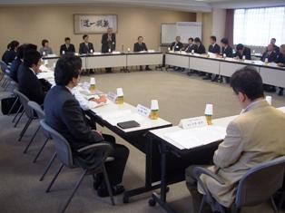 北陸三県私立短期大学体育大会代表者会議の様子写真