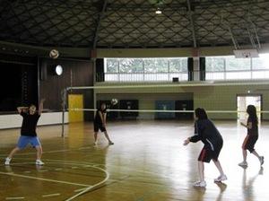 仁短バレーボール練習風景その2