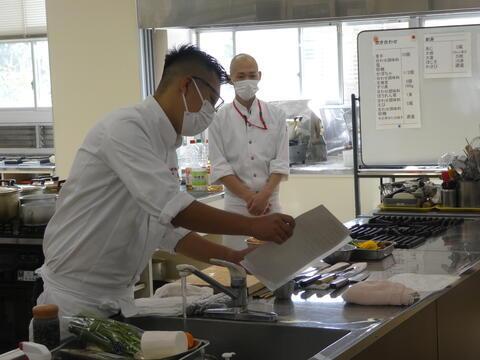 和食の料理人さんから学ぶ